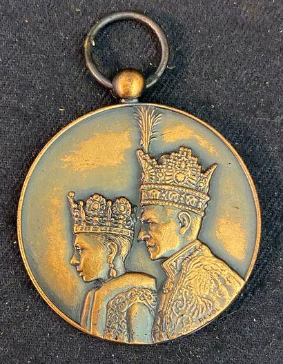 Perse / Iran - Médaille du Sacre de Mohammed...