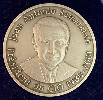 Olympisme - Juan Antonio Samaranch, Président...