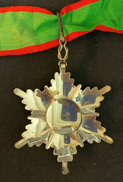 Persia / Iran - Order of Homayoun, successor in 1939 of the order of the Lion and...