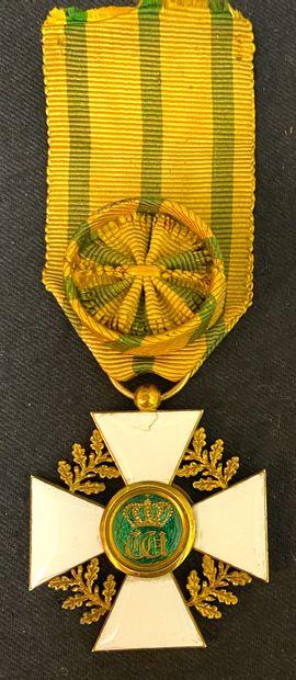 Luxembourg - Ordre de la Couronne de Chêne,...