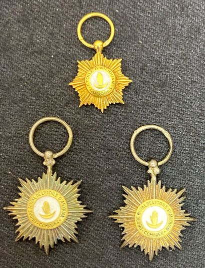 Comores - Ordre de l'Étoile d'Anjouan, fondé...