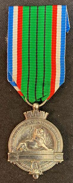 1870-1871. Médaille commémorative du Siège...