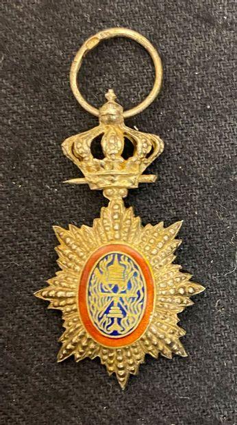 Cambodge - Ordre royal du Cambodge, miniature...