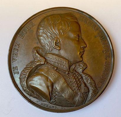 Henri Quatre Second, grande médaille en bronze...