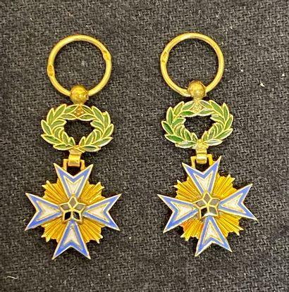 Bénin - Ordre de l'Étoile noire, fondé en...