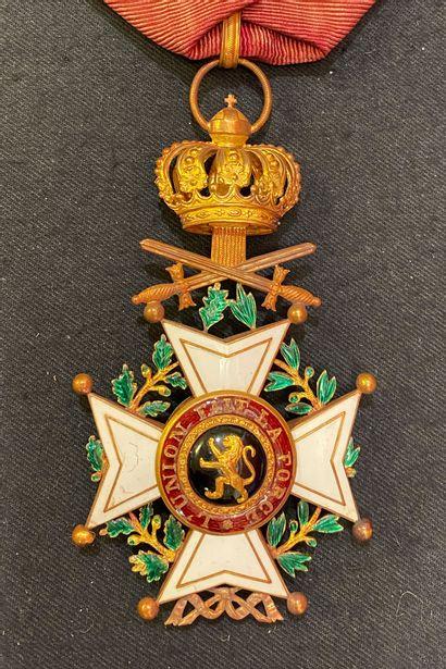 Belgique - Ordre de Léopold, fondé en 1833,...