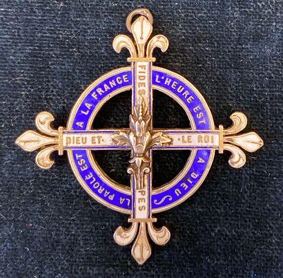 Croix des partisans du comte de Chambord,...