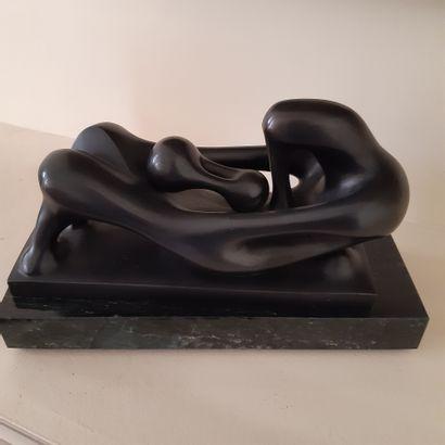 Agustìn CARDENAS (1927-2001) Sans titre Signé du monogramme de l'artiste en bas sur...