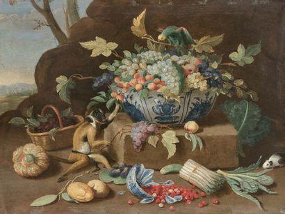 Jan van KESSEL le JEUNE (Anvers 1654 - Madrid 1708)