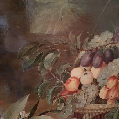 Isaac SOREAU (Francfort-sur-le-Main 1604 - Francfortsur- le-Main 1644/45) Corbeille...
