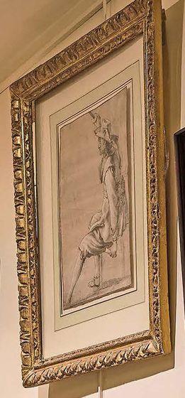Attribué à Jacob DUCK (Utrecht 1600 - Utrecht 1667) Militaire assis tenant une épée...