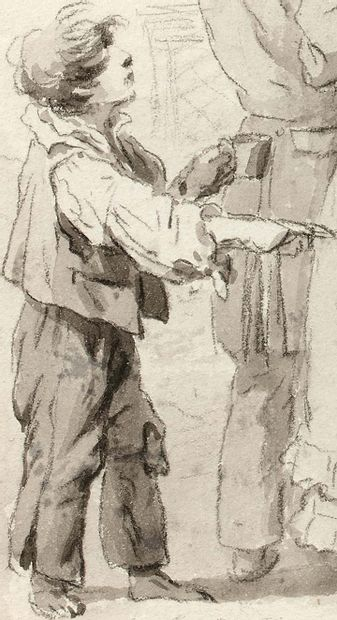 Louis Léopold BOILLY (La Bassée 1761 - Paris 1845) - There are more unfortunate people...