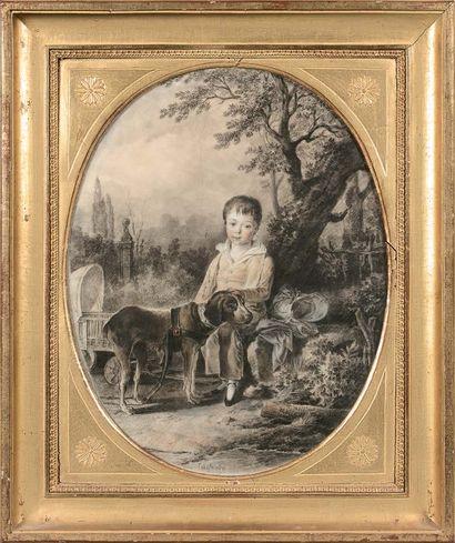 Attribué à Jean-Antoine CONSTANTIN (Marseille 1756 - Aix-en-Provence 1844)