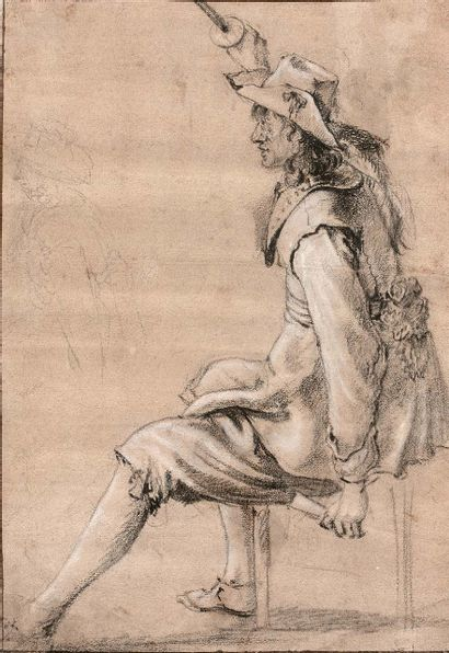 Attribué à Jacob DUCK (Utrecht 1600 - Utrecht 1667)