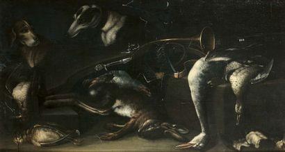 Entourage de Jacobus BILTIUS (La Haye 1633 - Berg-op-Zoom 1681)