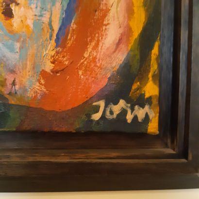 Asger JORN (1914-1973) Hanky-Panky, 1966 Huile sur toile, signée en bas à droite,...