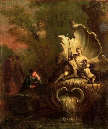 ÉCOLE FRANÇAISE dans le goût de Jacques de LA JOUE (1687-1761)