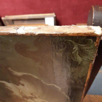 ÉCOLE FRANÇAISE dans le goût de Jacques de LA JOUE (1687-1761) Young reader in a...