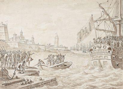 Attribué à Jacques François SWEBACH (1769-1823)