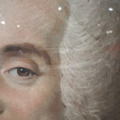 École FRANÇAISE du XVIIIe siècle Portrait présumé de Monsieur Siry de Marigny, président...