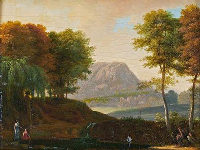 ÉCOLE FRANÇAISE de la fin du XVIIIe ou du début du XIXe siècle