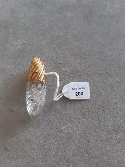 Flacon à parfum de votre ovoïde en verre...