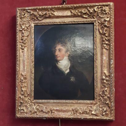 Atelier de Thomas LAWRENCE (1769-1830) Portrait d'Arnaud Emmanuel du Plessis, duc...
