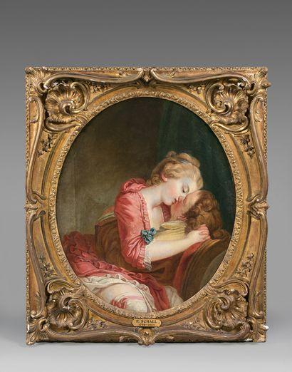 Attribué à Jean-Frederic SCHALL (1752-1825)