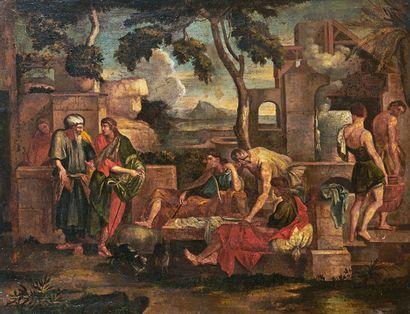 ÉCOLE FRANÇAISE du XVIIIe siècle, d'après Sébastien Bourdon