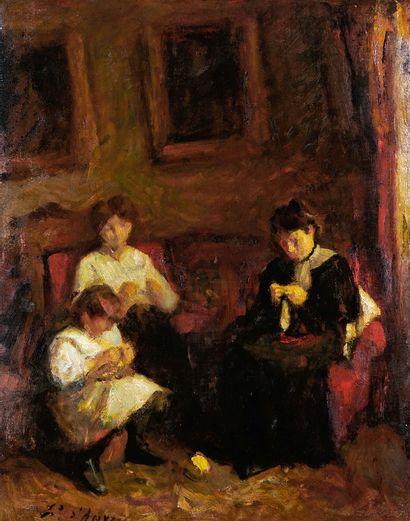 Edouard d'APVRIL (1843-1928)