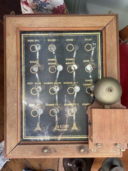 Tableau des sonnettes 46 x 37 cm