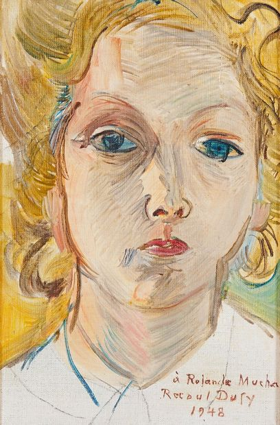 Raoul DUFY (1877-1953) Portrait de Madame...