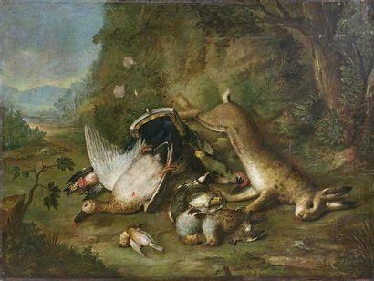 Entourage de BALDASSARE de CARO (1689-1750)...