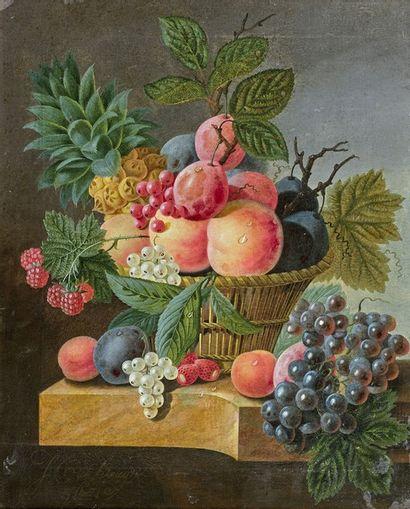 Johanes Cornelius de BRUYN (1800-1844) Nature...