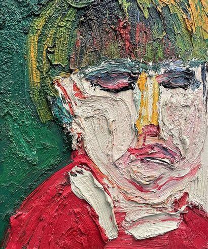 Bengt LINDSTROM (1925-2008) Portrait, 1988...