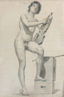 Henri Ferdinand BELLAN (1870-1922) Académie...