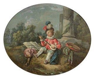 Entourage de Charles EISEN (1790-1848) Le...