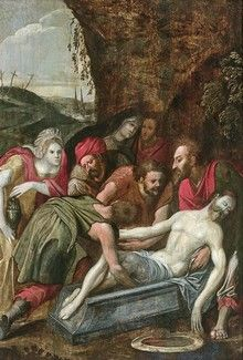 ECOLE FLAMANDE de la fin du XVIe siècle La...