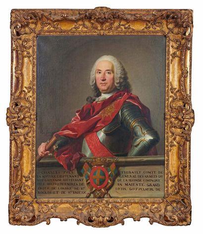 Louis-Michel VAN LOO (1707-1771) Portrait...