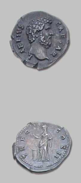 AELIUS, fils adoptif d'Hadrien (+ 138) Denier....