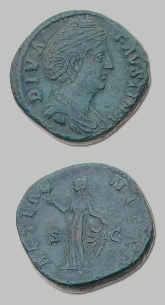 FAUSTINE mère, épouse d'Antonin le Pieux...