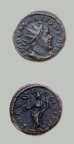 MARIUS (268) Antoninien. Son buste radié...