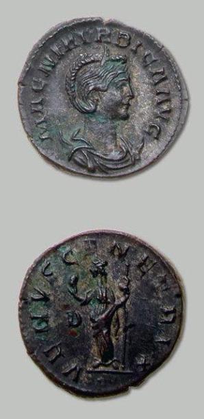 MAGNA URBICA, épouse de Carin Antoninien....