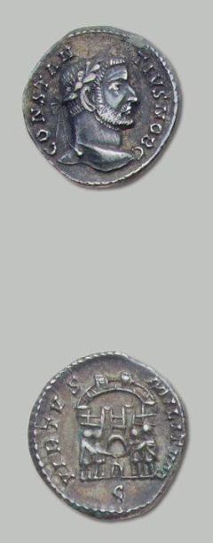 CONSTANCE I CHLORE (293-305 - 305-306) Argenteus....