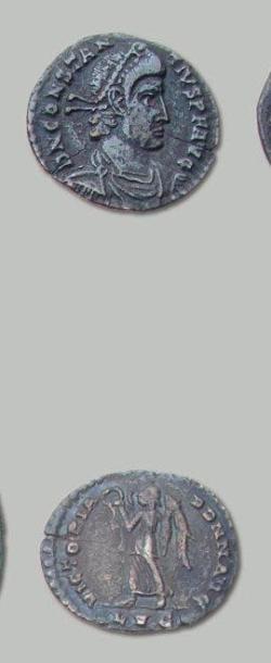 CONSTANCE II (337-361) Silique: 2 exemplaires....