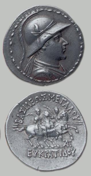 BACTRIANE Eucratide (190-150 av. J.-C.)....