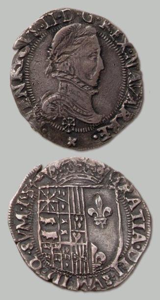 NAVARRE et BÉARN 9 monnaies (Franc: 3 exemplaires...