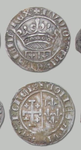 Jeanne de Naples (1362-1382) et Louis 1er...