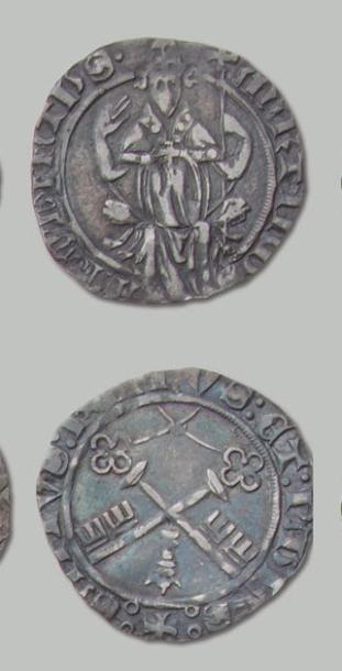 COMTAT VENAISSIN 14 Monnaies variées: deniers,...