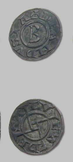8 Monnaies variées (denier d'Anduze, Albi,...